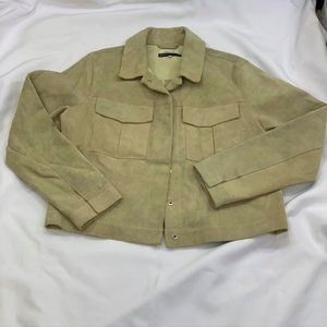 RARE Levi's Made and Crafted In Italy Womens Tan S